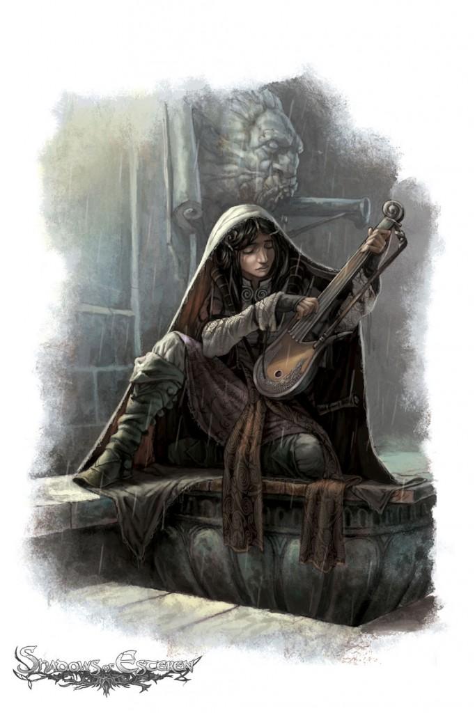 """Weiblicher Beispiel-Charakter """"Shadows of Esteren"""""""