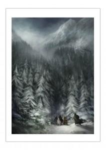 Shadows of Esteren: Winterlandschaft