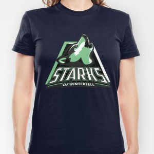 """A Game Of Thrones""-T-Shirts ""Starks of Winterfell"""