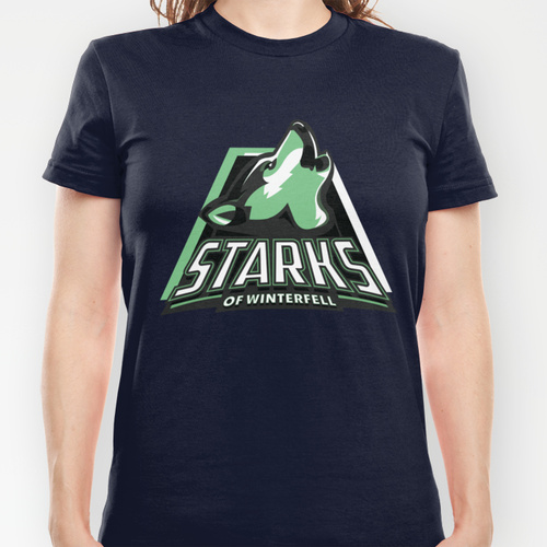 """""""A Game Of Thrones""""-T-Shirts """"Starks of Winterfell"""""""