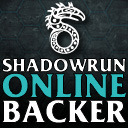 """Shadowrun Online"" Backer Avatar"