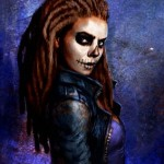 """""""Shadowrun Online"""" Young Halloweener in her Warpaint"""