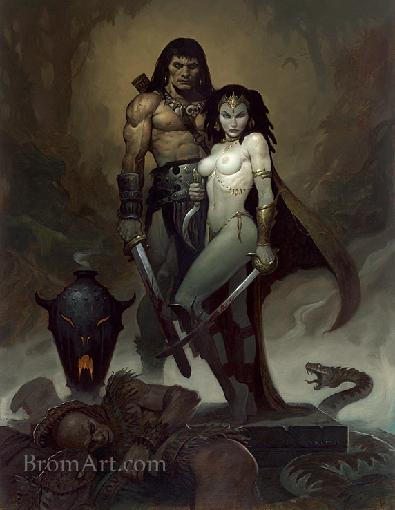 """""""Snake Heart"""" by Brom"""