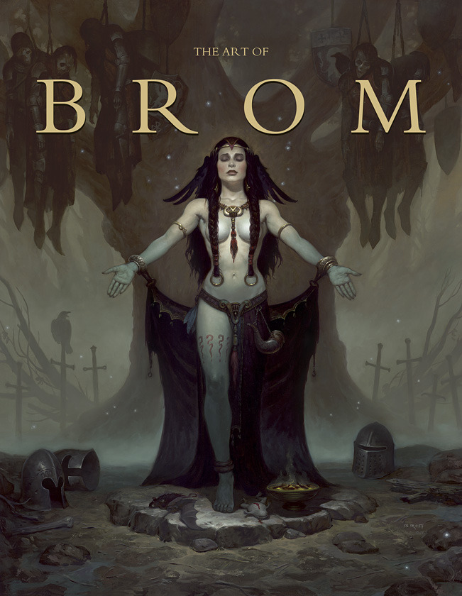 """The Art of Bom""-Trade Edition Cover (""Morgan Le Fay"")"