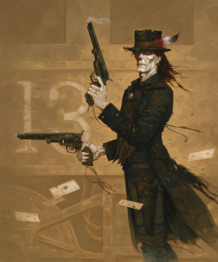 """The Art of Brom"": ""Deadlands""-Cover"