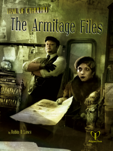 """The Armitage Files""-Cover"