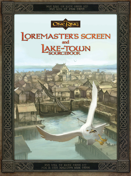"""""""The One Ring RPG"""": """"Lake-Town""""-Cover"""
