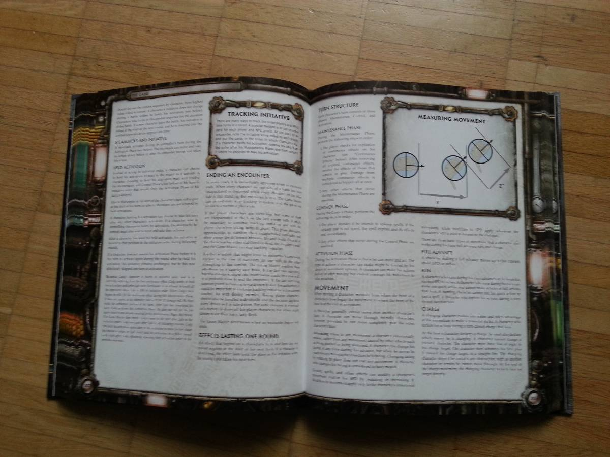 """Iron Kingdoms RPG"": Combat system"