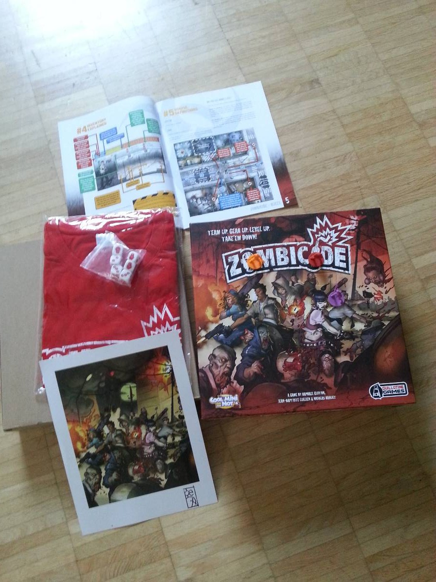 """Zombicide"": Unboxing ..."