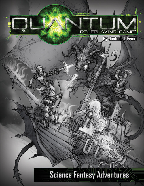 """Quantum RPG"": BETA-Cover"