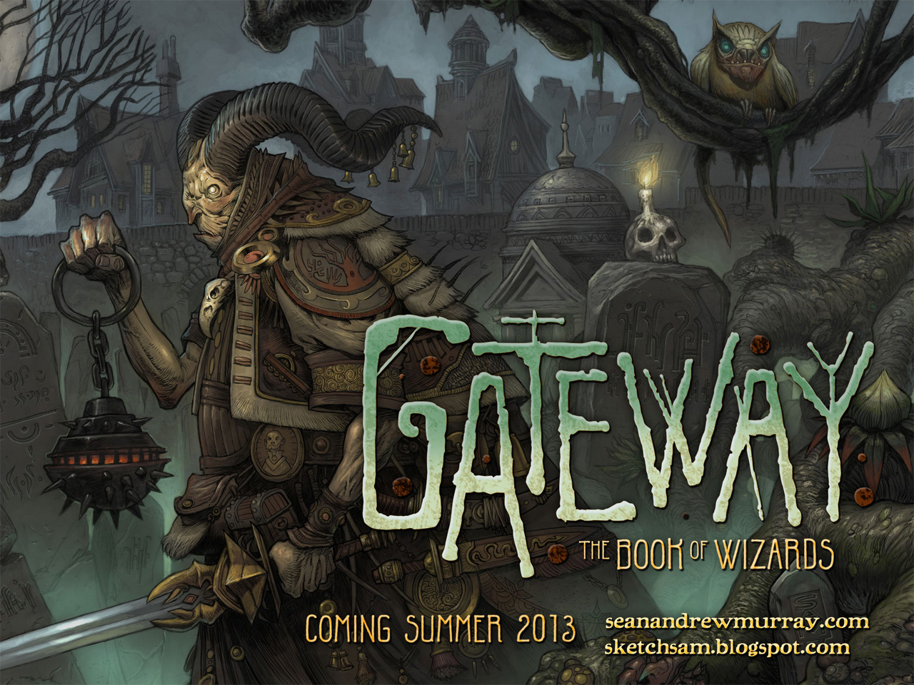 """Gateway: The Book of Wizards"": ""Wizards Gravemaster"""