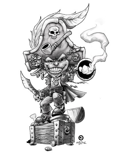 """Freebooter's Fate"": Goblin Captain"
