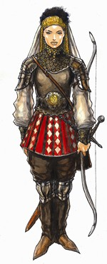 Midgard Campaign Setting: Amazon Archer (Mark Smylie, Open Design)