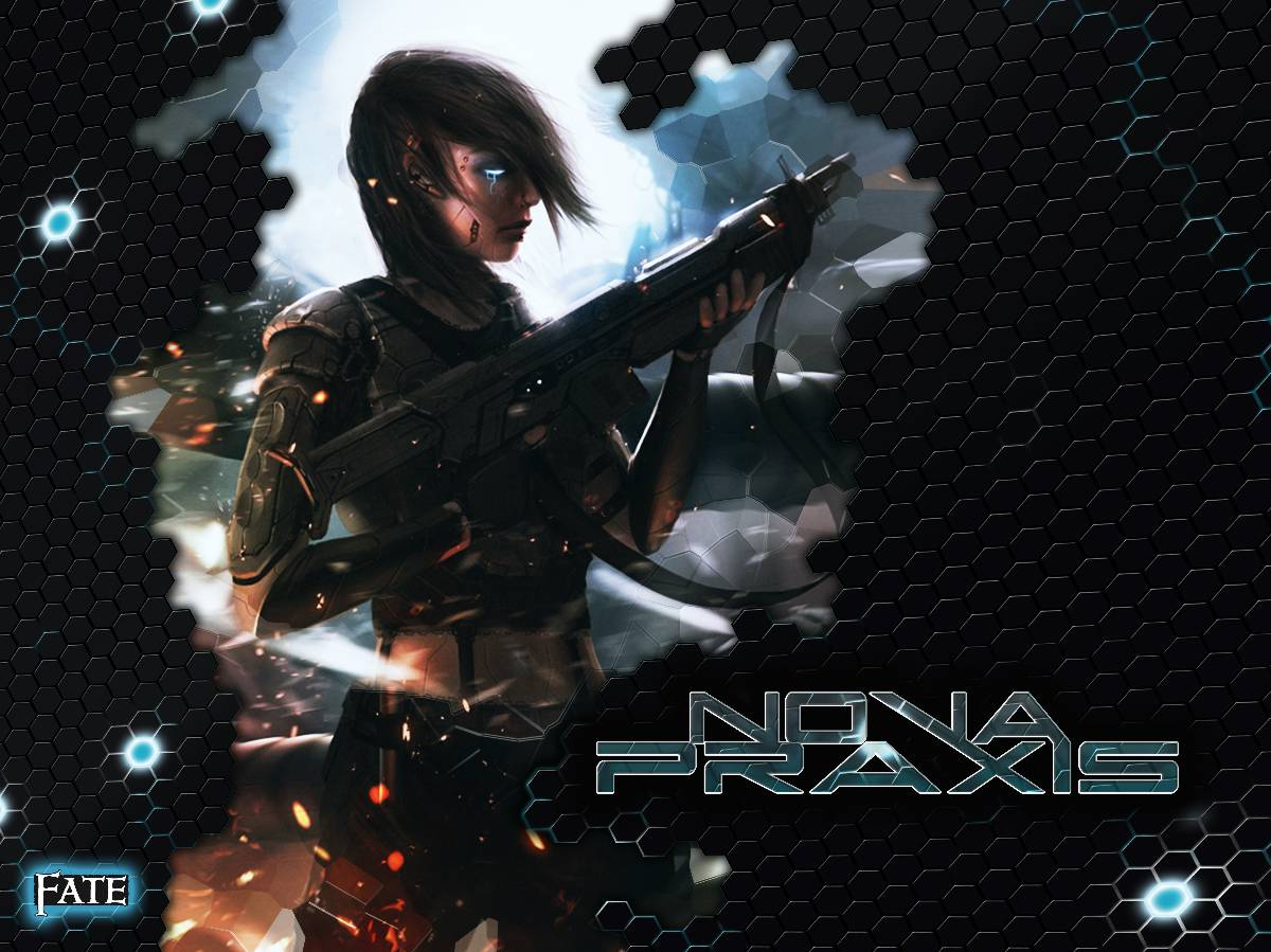 """Nova Praxis""-Cover (Beta)"
