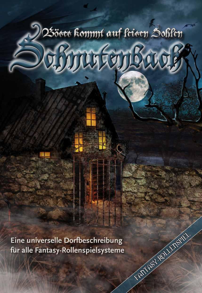 """""""Schnutenbach - Böses kommt auf leisen Sohlen""""-Cover"""