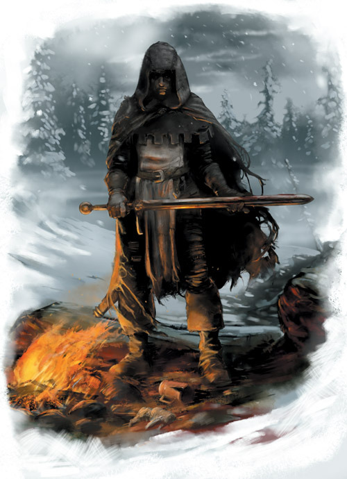 """Shadows of Esteren"": Fighter?"
