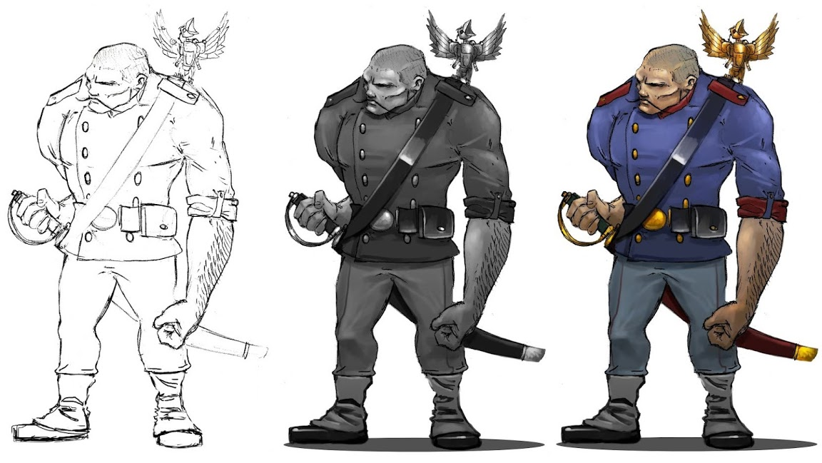 """""""Wolsung"""": """"Ogres: a cursed race of apelike giants, only male ogres exist."""""""