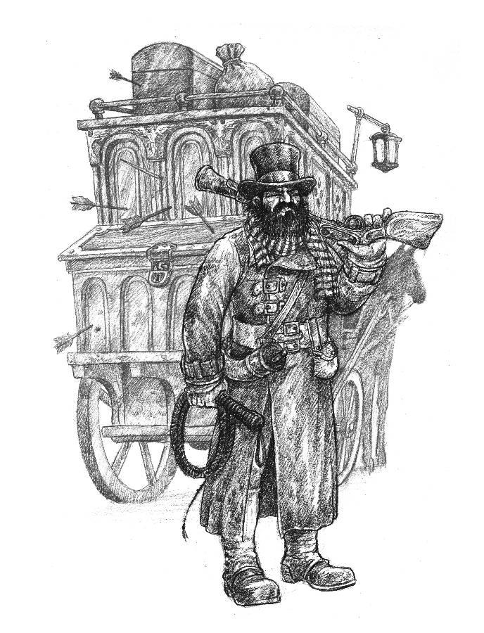 """""""ZWEIHÄNDER RPG"""": Coachmaster"""