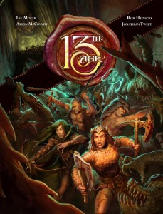 13th Age: Cover