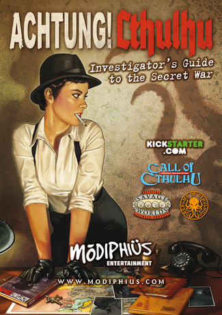Achtung! Cthulhu - Investigator's Guide to the Secret War: Cover