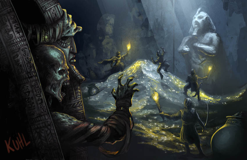 """""""Hellfrost Land of Fire"""": Grave robber"""