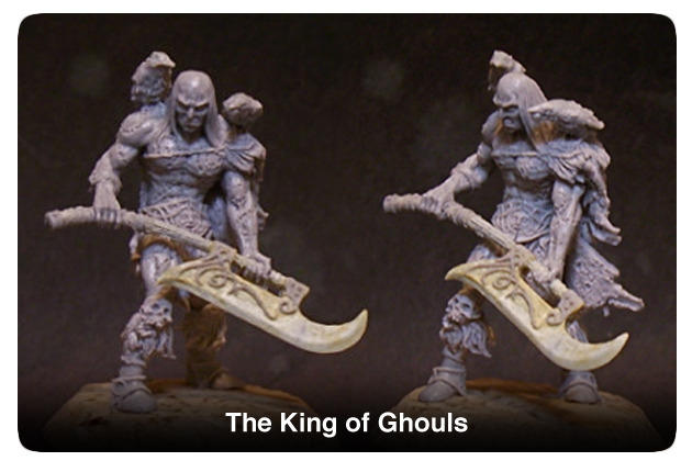 Imbrian Arts Miniatures: King Of Ghouls