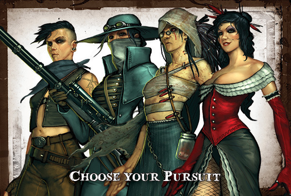 Through the Breach: A Malifaux Roleplaying Game: Some Ladies?