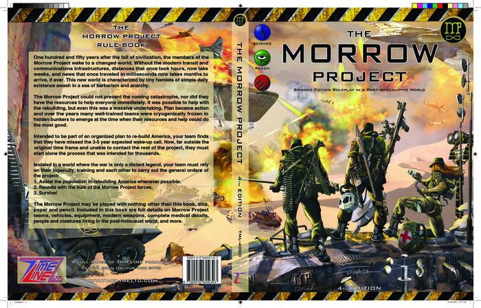 Morrow Project 4th Edition-Cover