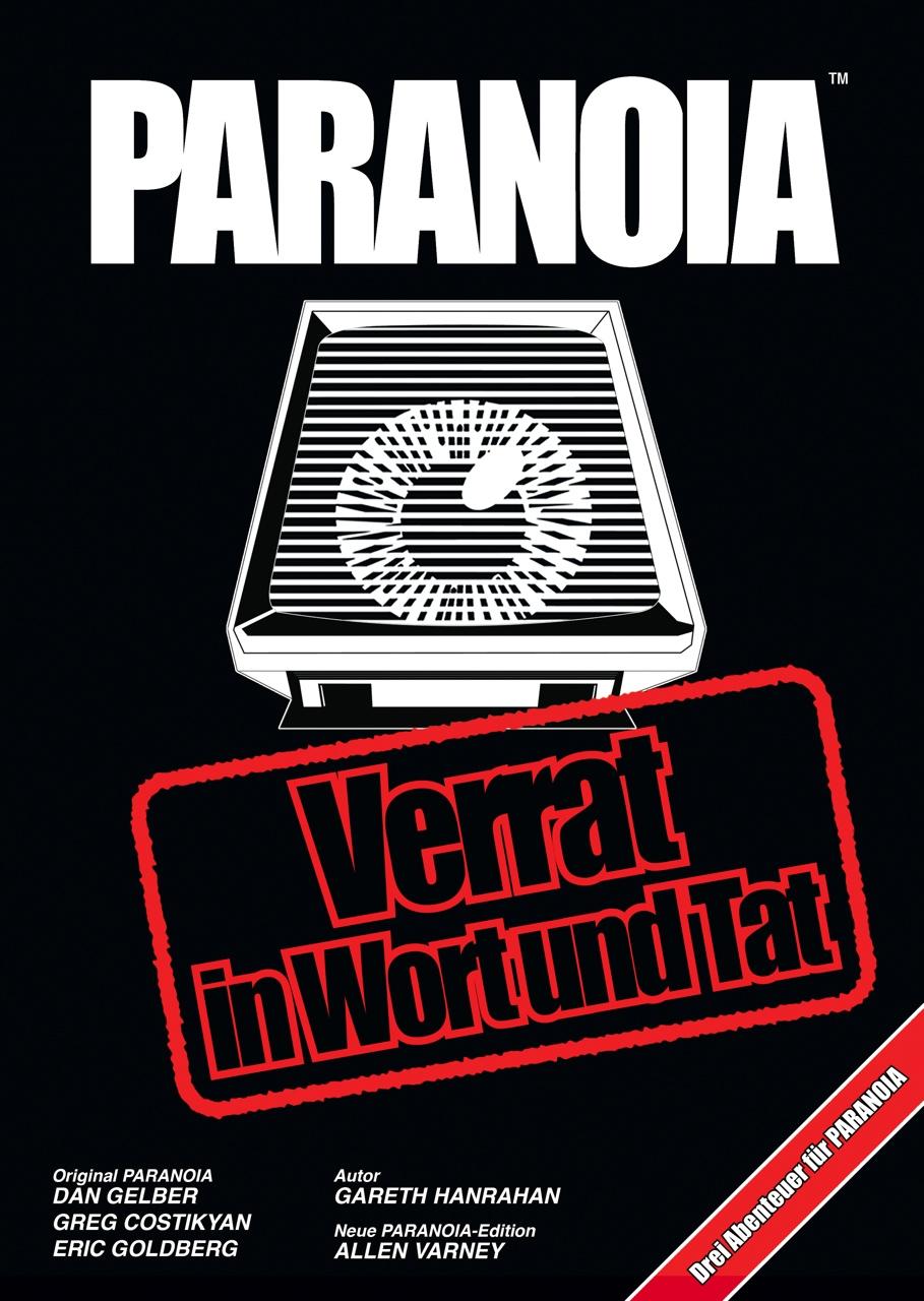 Paranoia Rollenspiel - Verrat in Wort und Tat: Cover