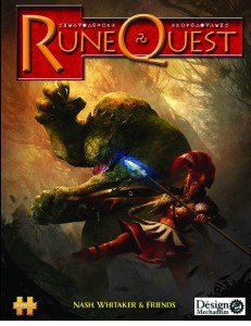 """""""Runequest 6th Edition""""-Cover"""