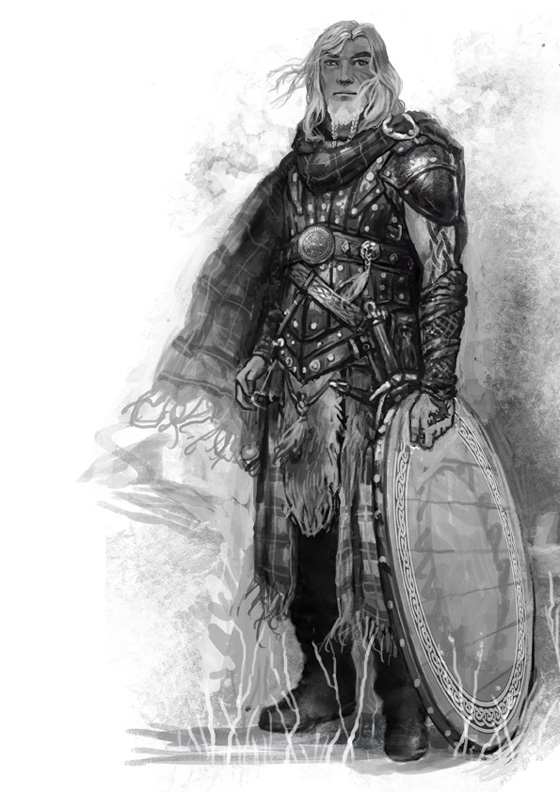 Shadows of Esteren: Kavan Mac Dougal (Lord of Shadows sketch)