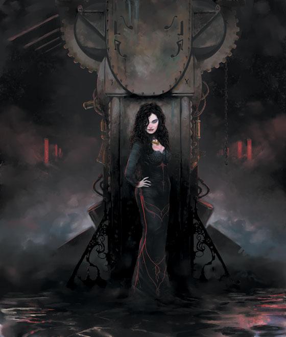 Shadows of Esteren: Alana Naïghan (Magientist)