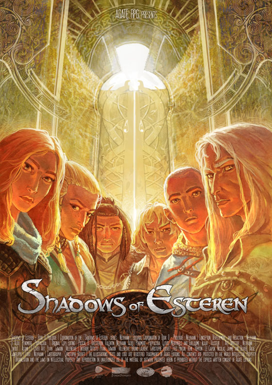 Shadows of Esteren - A Medieval Horror RPG: Prologue: Poster