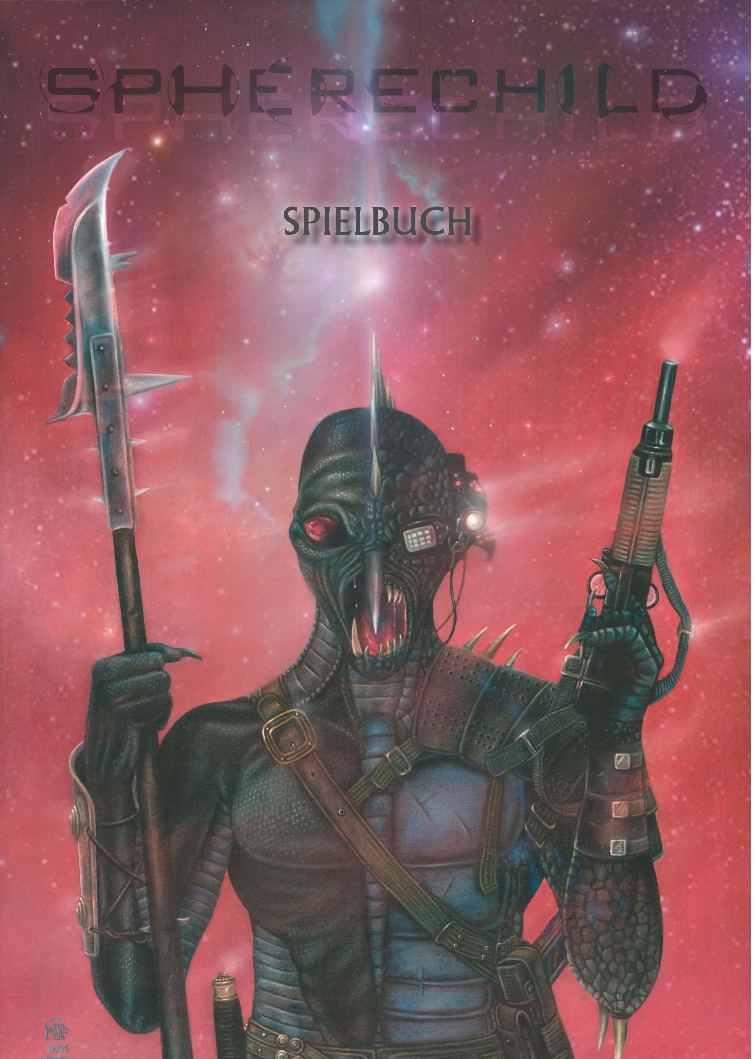 Spherechild-Spielbuch: Cover