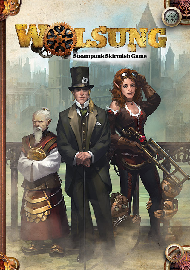 Wolsung Steampunk Skirmish Game-Cover