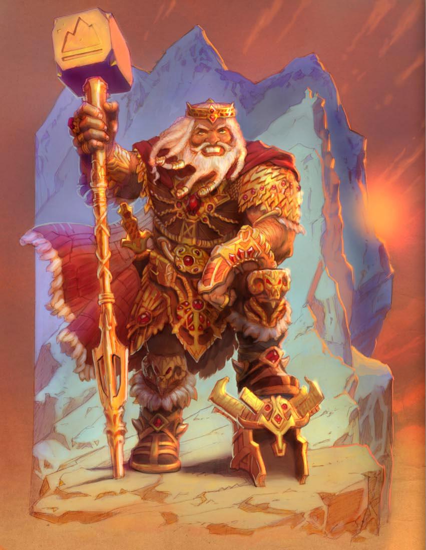 13th Age: Dwarf King
