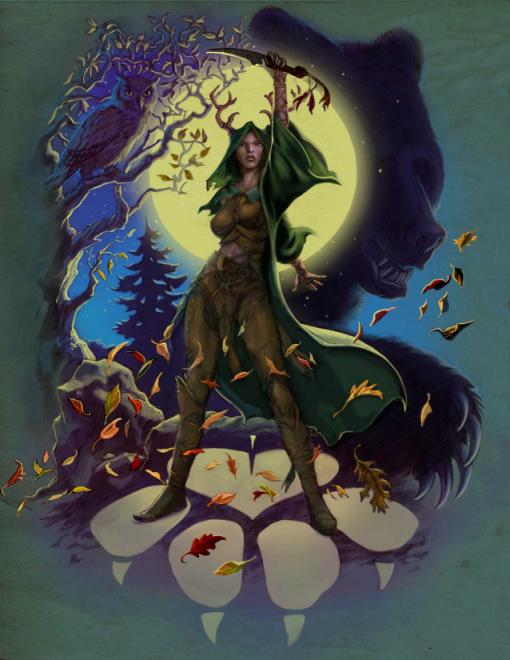 13th Age: High Druid