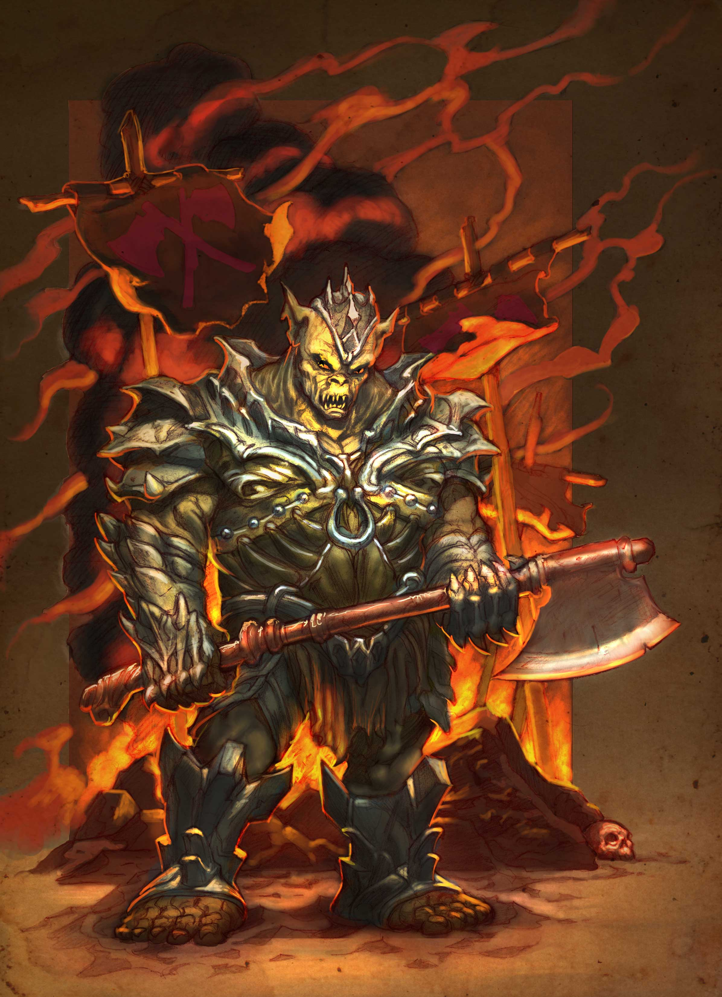 13th Age: Orc Lord
