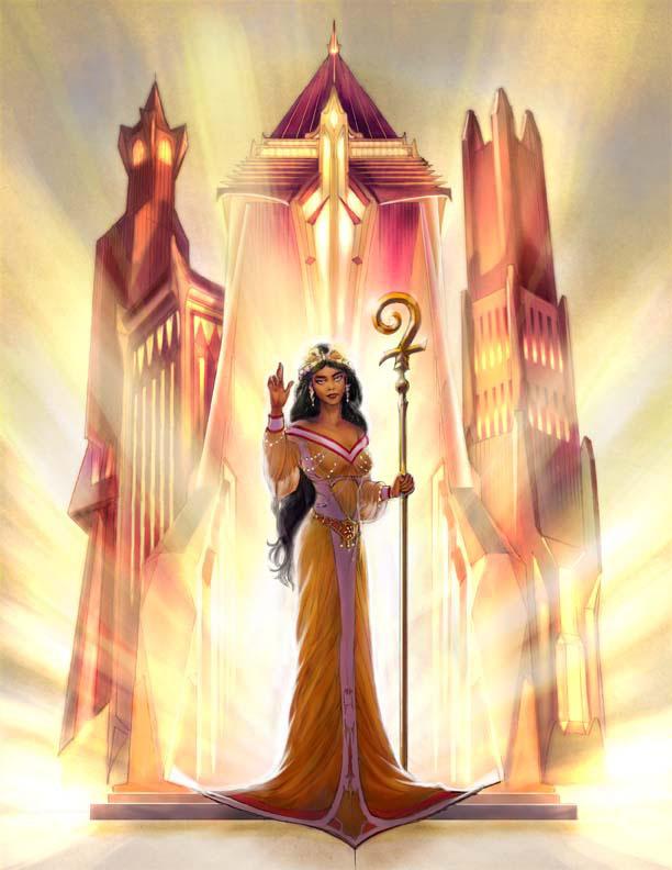 13th Age: Priestess
