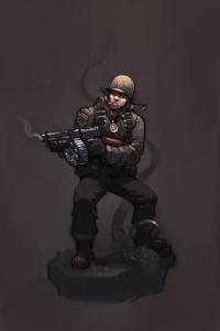 Achtung! Cthulhu: Sergeant Brandon Carter
