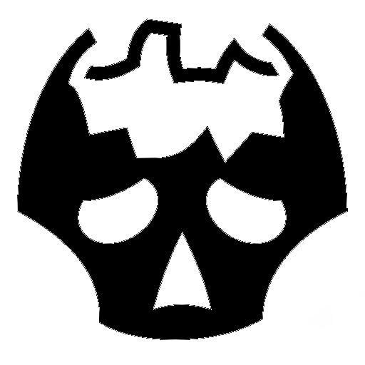 Game Icons: Broken Skull