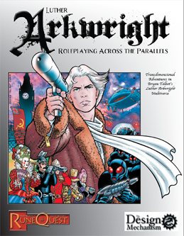 Luther Arkwright: Roleplaying Across the Parallels: Cover