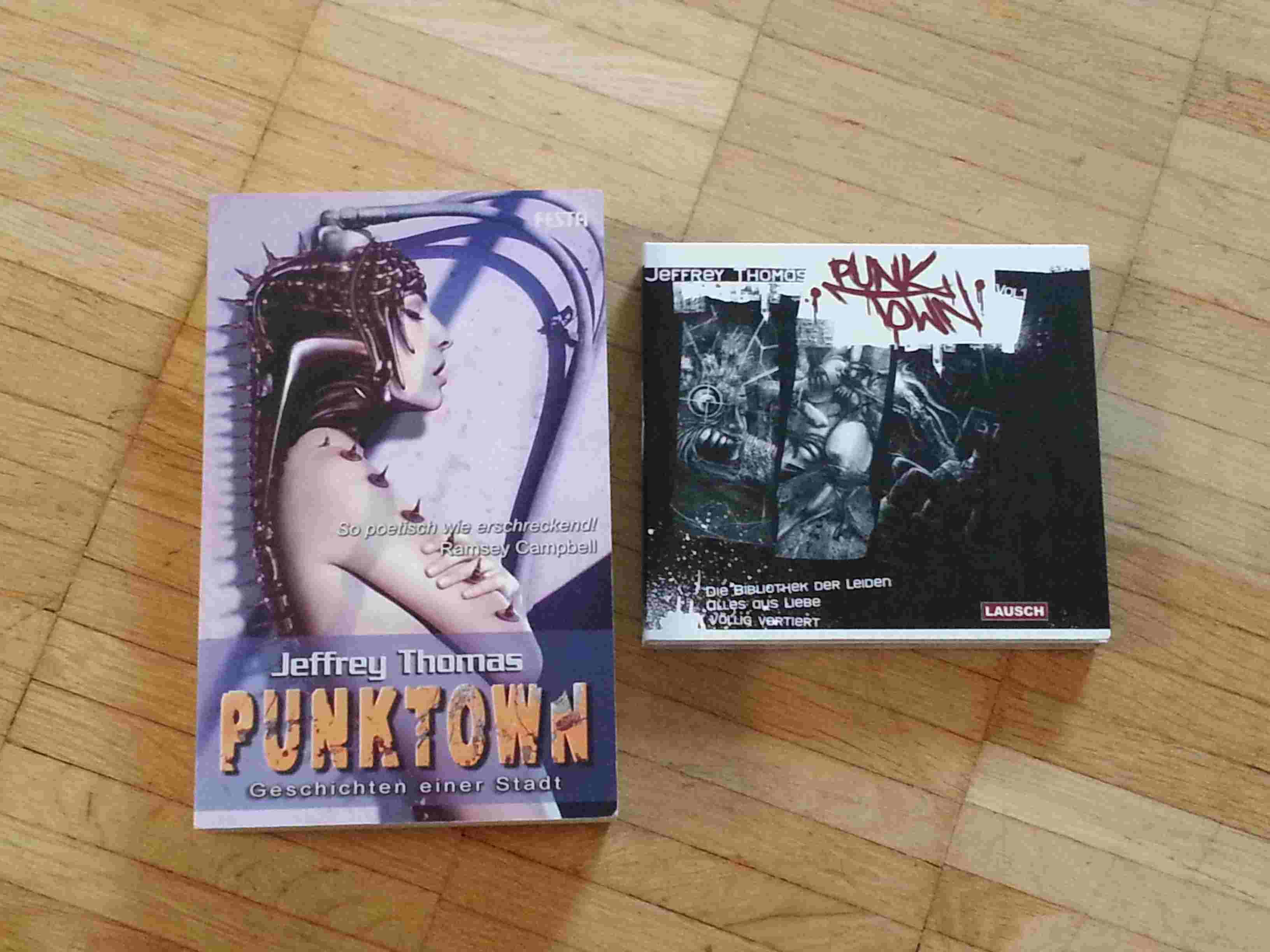 Punktown - Geschichten einer Stadt: Anthologie und Hörbücher