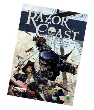 Razor Coast: Cover (Wayne Reynolds, Frog God Games)