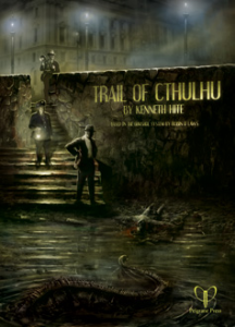 Trail of Cthulhu: Cover