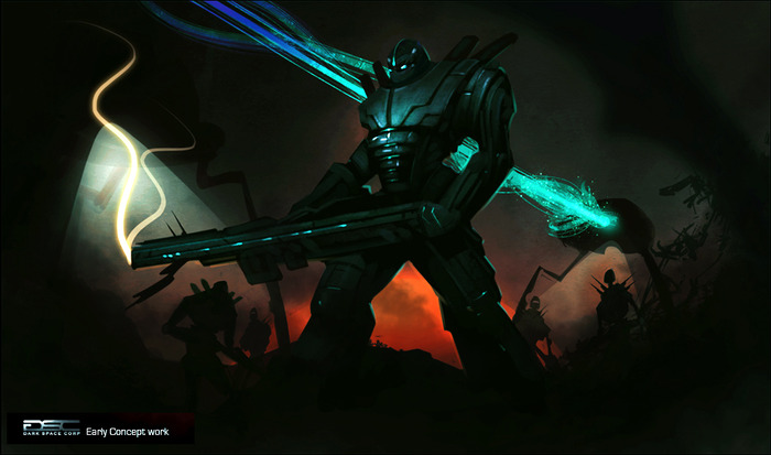 Beyond The Gates Of Antares: Early Concept Art (Dark Space Corp)
