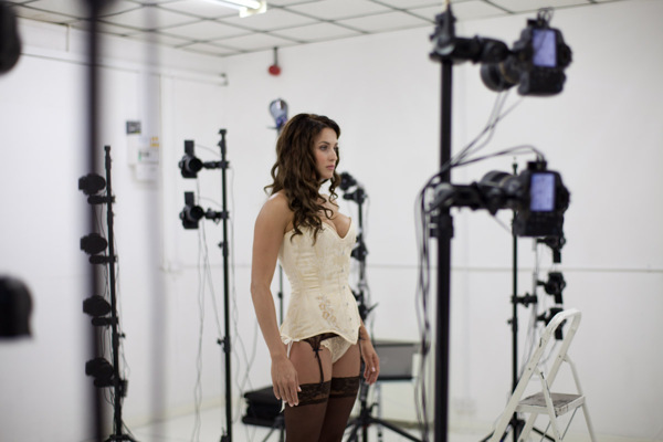Cyberpunk 2077: Girl model (CD Project Red)
