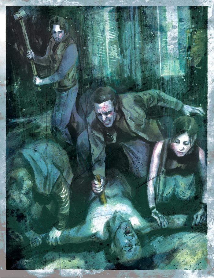Deluxe Hunters Hunted II (The Onyx Path)