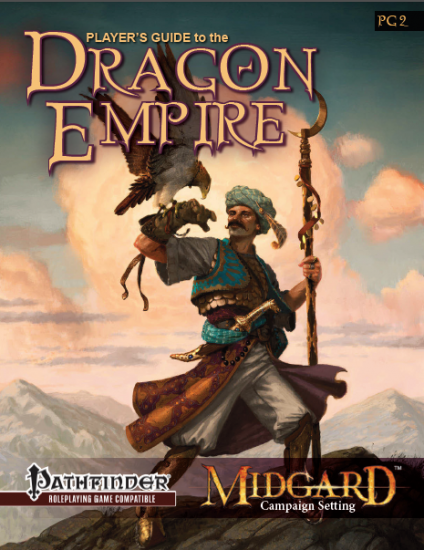 Dragon Empires: Cover (Midgard Campaign, Open Design)