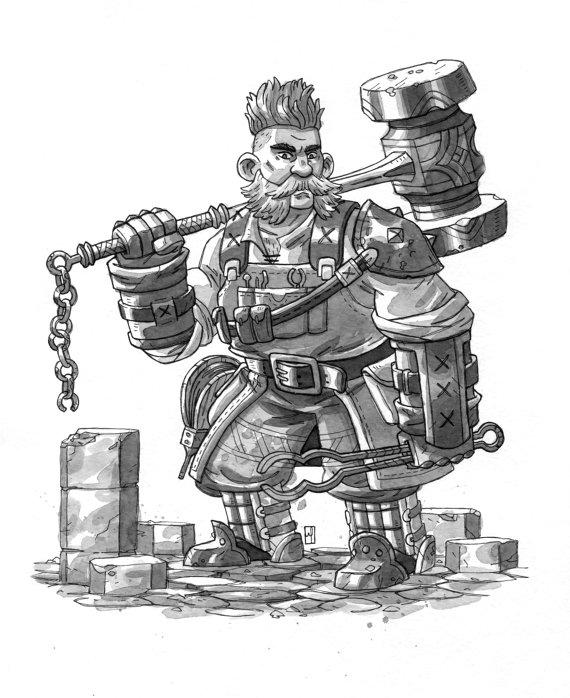 Iron Dwarf (M. S. Corley)